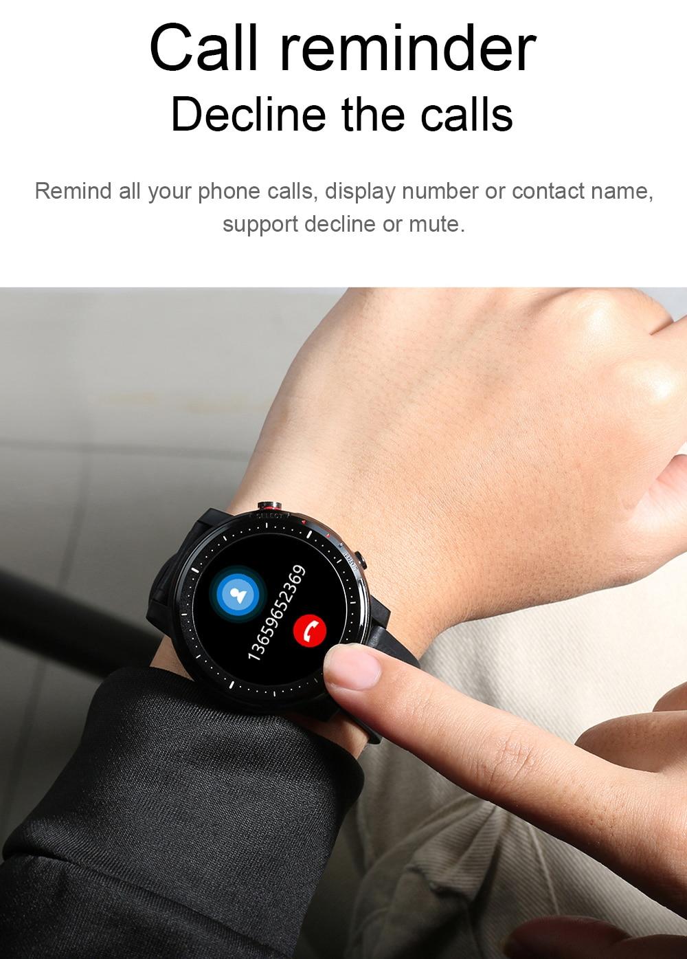 H5347871e9e444d3c93db091351d1991aj Timewolf Reloj Inteligente Smart Watch Men 2021 IP68 Waterproof Android Smartwatch Smart Watch for Men Women Android Phone IOS