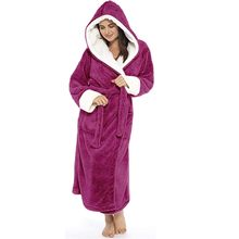 Ite roupo de banho feminino inverno pelúcia alongado roupo xale roupas de casa manga longa robe femme casaco 2020 venda quente #
