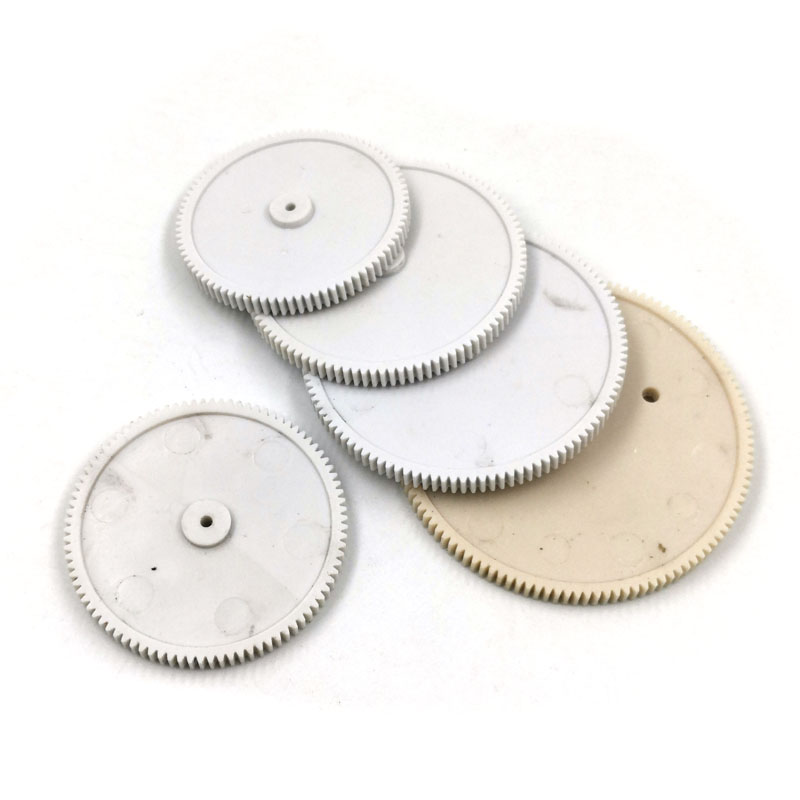 Big Gears 0.5M 802A 842A 902A 1002A 1102A 1202A POM Plastic Gear Wheel 80Teeth 84T 90T 100T 110T 120T 41-61mm Diameter