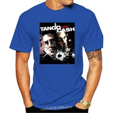 TANGO & CASH,MOVIE, 100% COTTON,MEN'S T-SHIRT.,E0489 Cotton Top Quality Tops Tee Shirt