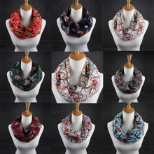 Women Ladies Owl Pattern Print Scarf Warm Wrap Shawl poncho echarpe hiver femme foulard femme sjaal szaliki i chusty luxury(China)