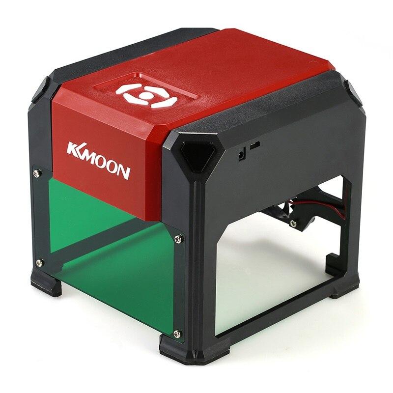 KKmoon K5 DIY Mini USB Laser Engraving Machine 3000mW Automatic CNC Wood Router Laser Engraver Printer Cutter Cutting Machine