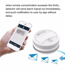Image 5 - Wifi Smoke Detector Wireless Fire sensor Protection Tuya APP Control Office/Home Smoke Alarm  rookmelder
