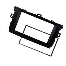 Замена автомобиля Радио Рамка фасции приборной панели блок Восстановленный стерео установка комплекты модификации
