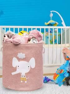 Laundry-Basket Baskets-Bin Clothes Organizer Toy Storage Dog-Toys Folding Animal Large