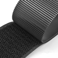 Self Adhesive Fastener Tape 30mm Velcro Adhesive Strong Glue Magic Sticker Hook Loop Fastener Tape sticker velcros with Glue