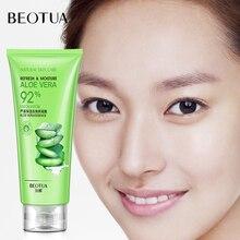 BEOTUA Aloe Plant Facial Cleanser Hyaluronic acid Exfoliator Gel Whitening Brightening Peeling Cream Face Scrub 120g
