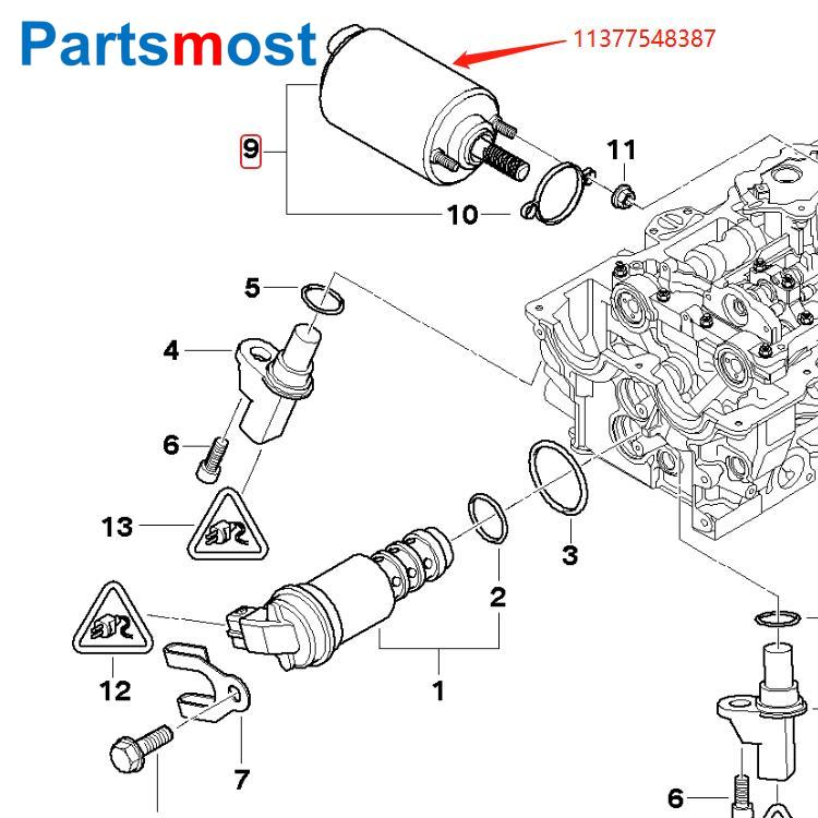 BMW X1 E84 X3 E83 Z4 VDO Eccentric Shaft Actuator for Valvetronic System 2004