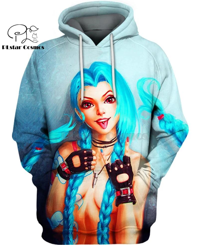 PLstar Cosmos DC Harley Quinn anime Super Attack Speed 3d hoodies/shirt/Sweatshirt Winter autumn funny Harajuku streetwear