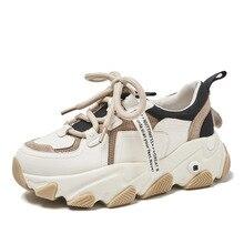 2020 new arrive women sneakers paltform shoes 6cm heel fashi