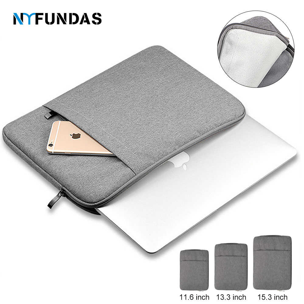 Funda impermeable para ordenador portátil, funda 15,6 para Apple Macbook Air Pro 11 13 15 13,3 pulgadas, fundas para Notebook Ipad Dell, fundas para Tablet Lap top Bag