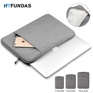 Waterproof Laptop Sleeve Bag 15.6 Case For Apple Macbook Air Pro 11 13 15 13.3 Inch Notebook Ipad Dell Cases Tablet Lap top Bag(China)