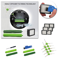 Filters burshes Kit Suitable For iRobot Roomba Series i7 E5 E6 Vacuum Cleaner Accessory Screwdriver household cleaning