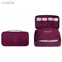 Бюстгальтер женское нижнее белье дорожная сумка многофункциональный организатор женщины чемодан для хранения упаковки куб