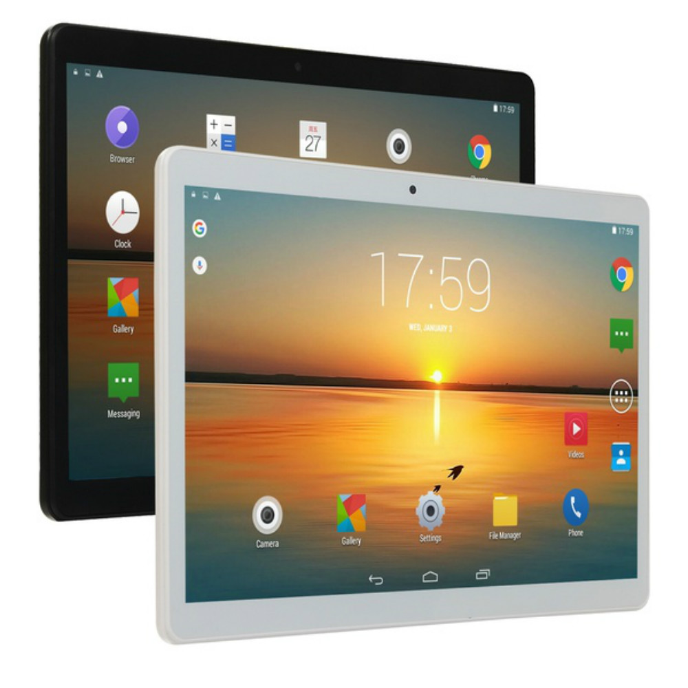 2020 Tablet PC 4G Android 8.0 Octa Core Google Play The Tablets 6GB RAM 128GB ROM WiFi GPS 10 Tablet Steel Screen Tablet