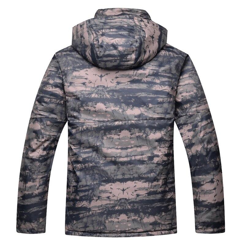 Camuflagem roupa de neve dos homens especial