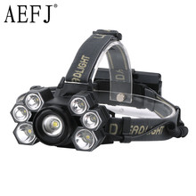 AEFJ Super bright 7000 lumens 7 Led ZOOM Headlamp XML T6 Headlight Waterproof 18650 Head Flash Lamp Camp Hike Fishing Light sitemap 165 xml