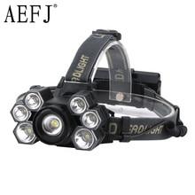 AEFJ Super bright 7000 lumens 7 Led ZOOM Headlamp XML T6 Headlight Waterproof 18650 Head Flash Lamp Camp Hike Fishing Light sitemap 19 xml