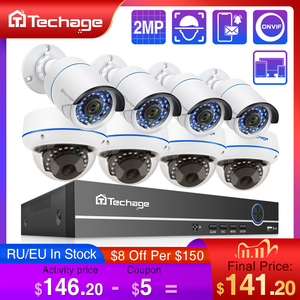 Image 1 - H.265 8CH 1080P HDMI POE NVR Kit fino a 16CH CCTV System 2MP Indoor Outdoor Audio Dome telecamera IP Set di videosorveglianza di sicurezza
