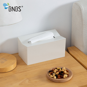 Image 5 - BNBS Kitchen tissue box Cover Napkin Holder For Paper Towels Boxes For Napkins Tissue Dispenser Wall Mounted Container For Paper