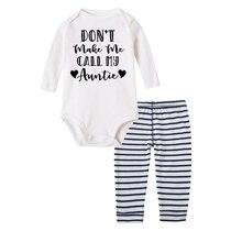 Pants Outfits-Set Bodysuit Polyester Bebe Baby-Boy-Girl Infant New Born My Kid 2pcs Tops