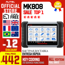Autel MaxiCOM MK808 OBD2 Car Diagnostic Tool OBD 2 Automotive Scanner IMMO EPB S