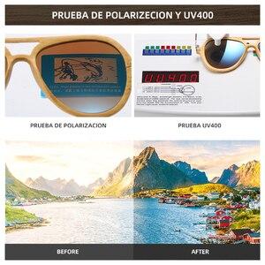 Image 5 - GM Vintageไม้ไผ่ไม้แว่นตากันแดดชายหญิงยี่ห้อDesignerกรอบโลหะแว่นตากันแดด