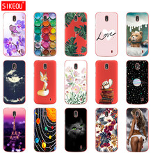 Case For Nokia 1 Plus Case Cover Cartoon Silicon Soft Back Cover Nokia 1 For Nokia1 Plus Case Bag Bumper Coque Capa(China)