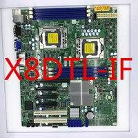 Placa-mãe dupla da estação de trabalho do servidor de X8DTL-iF x58 1366