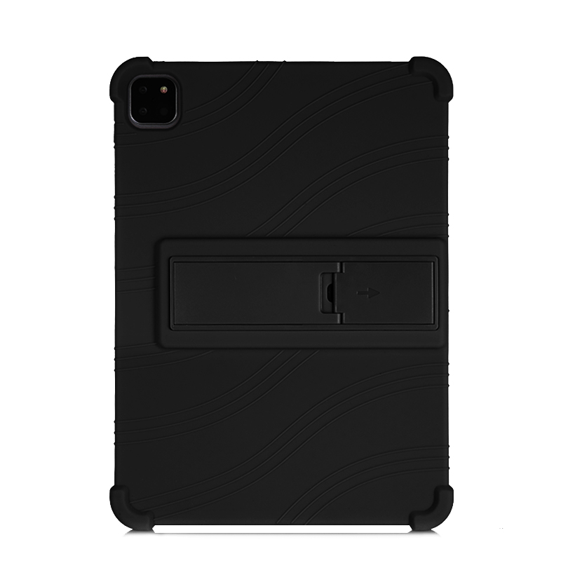 Black Black SZOXBY For iPad Pro 11 Case 2020 Flip Silicone Soft Cover For iPad Pro 11 2nd