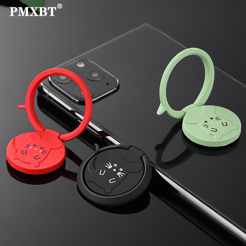Luxury Metal Mobile Phone Ring Holder Telephone Cellular Support Accessorie Magnetic Car Bracket Socket Stand for All Smartphone