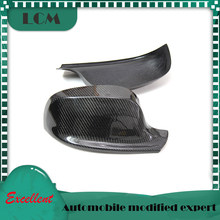 2010 2011 2012 2013 For-BMW X Series X1 E84 X3 F25 Carbon Fiber Rear View Mirror Cover Add On style&Replacement Style