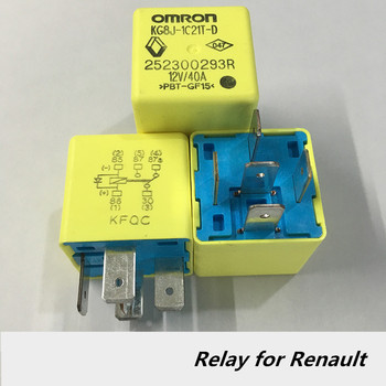 цена на Auto relay 12v 40A 5P omron relay for renault