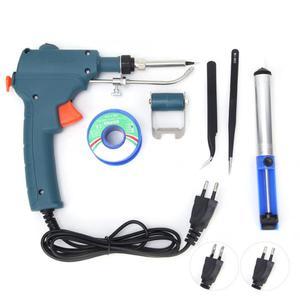 Image 2 - Soldador de calefacción interna portátil de 80W que envía automáticamente pistola de estaño herramienta de reparación de soldadura