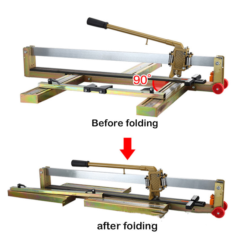 Tile push knife floor wall tile cutting machine Cutting tool high precision manual tile cutting machine 600mm