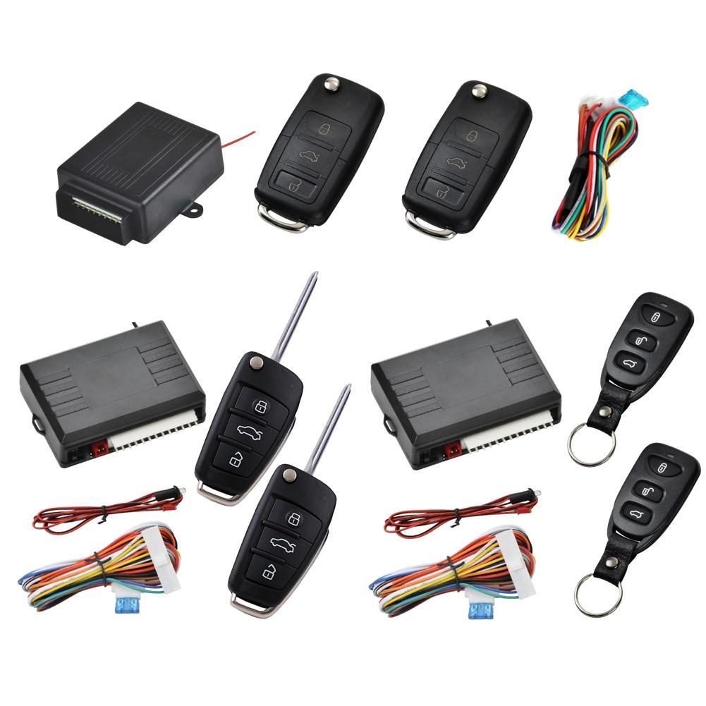 12-24V système d'alarme universel voiture Auto Kit Central à distance serrure de porte verrouillage véhicule système d'entrée sans clé avec télécommandes