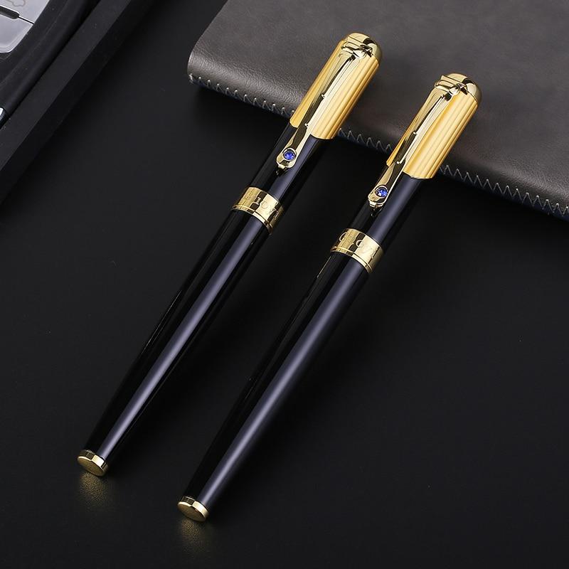 CCCAGYA C005 metall Gelpenna 0,5 mm spjäll, Lär dig kontorsskola brevpapper Gåva lyx penna & hotellbranschen Skriva Kulspenna