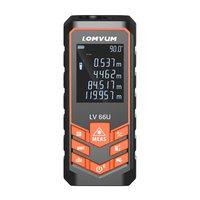 Sndway 120m handheld laser medidor de distância rangefinders spaceteter área volume ângulo automático calibração gama findercjy02006|Instrumentos de medição de altura| |  -