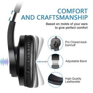 Image 3 - Oneodio T3 auriculares por encima de la oreja con cable, auriculares de graves estéreo con micrófono, auriculares ajustables para teléfono móvil