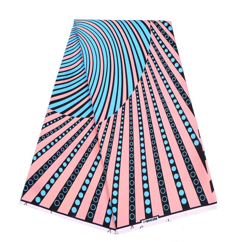 2020 Nigeria Wax Fabric 100% Polyester African  Dutch Wax Print Fabric 6Yards\lot