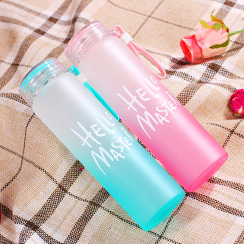 Sports Water Bottles Outdoor Travel Portable Leakproof Plastic My Drink Bottle BPA Free