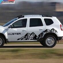 Für Dacia Renault Duster Off Road Styling Streifen Berg Grafiken Aufkleber Auto Körper Tür Seite Decor Vinyl Aufkleber