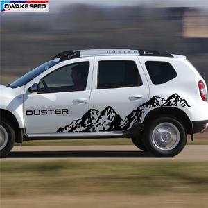HLLebw Auto Adesivi Decorativi per Gonna Adesivi per Renault Megane 2 Scenic Dacia Duster Sandero Logan Clio Laguna Captur Fluence Koleos Zoe Kadjar