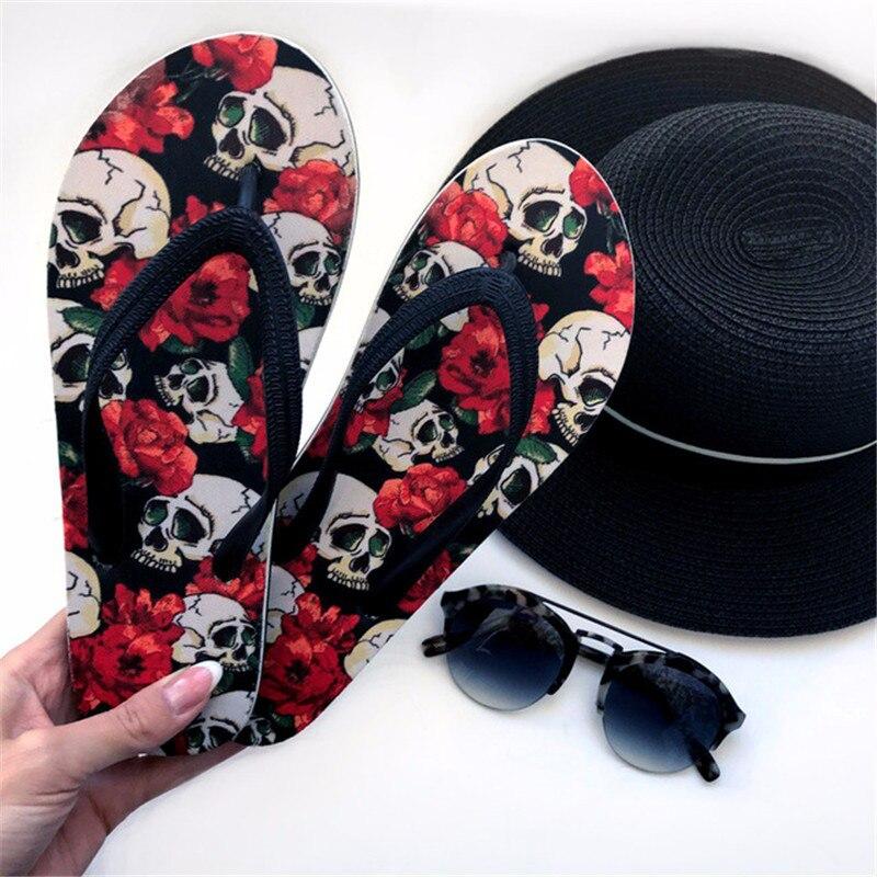 terrier samoyed impressão verão chinelo feminino sandálias de praia flip-flops