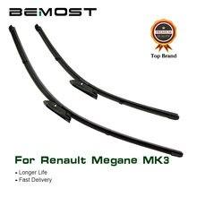 Резиновые щетки стеклоочистителя bemost для renault megane mk3