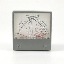 ثابت موجة نسبة SWR متر Forwad 20 واط ينعكس 4 واط 100uA راديو HF SWR السلطة متر المزدوج الإبر SZ 70 1