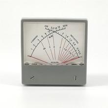 Stationary Wave Ratio SWR Meter Forwad 20W Reflected 4W 100uA Radio HF SWR Power Meter Dual Needles SZ 70 1
