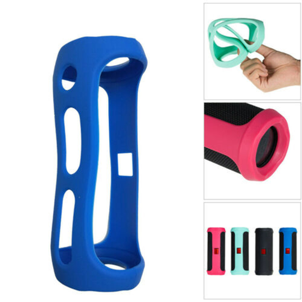 Silicone Case Cover For JBL FLIP 4 BT Speaker Portable Mountaineering Silicone Case Cover Protecter