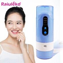 Электрическая полоскание для полоскания рта, портативная аккумуляторная нить для мытья зубов с красными зубами