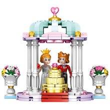 Xingbao 12021 Свадебные строительные блоки фигурки игрушки кирпич